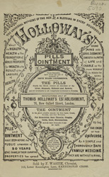 Advert for Holloway's Pill's & Ointment